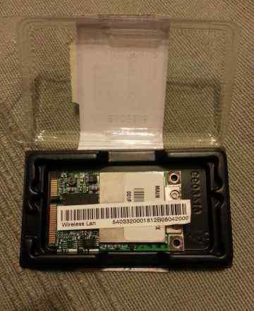 Внутренний WiFi для ноутбуков. miniPCI-e 54mbps