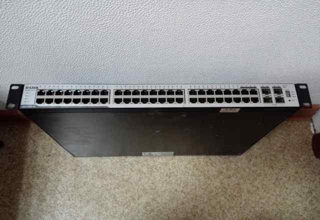 Коммутатор D-Link DGS-3100-48