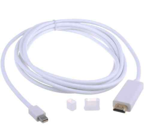 Кабель Mini DisplayPort to hdmi для Macbook iMac