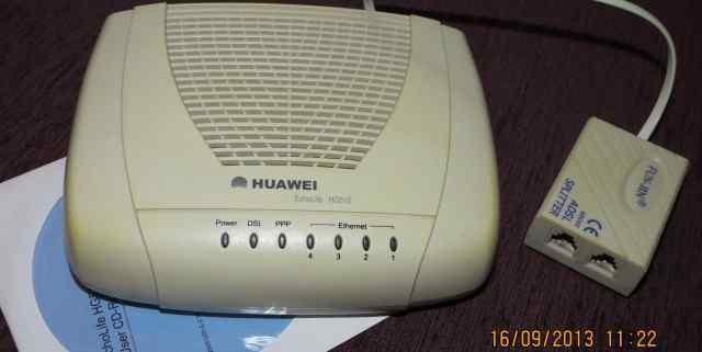 Adsl-модем (роутер) Huawei HG510