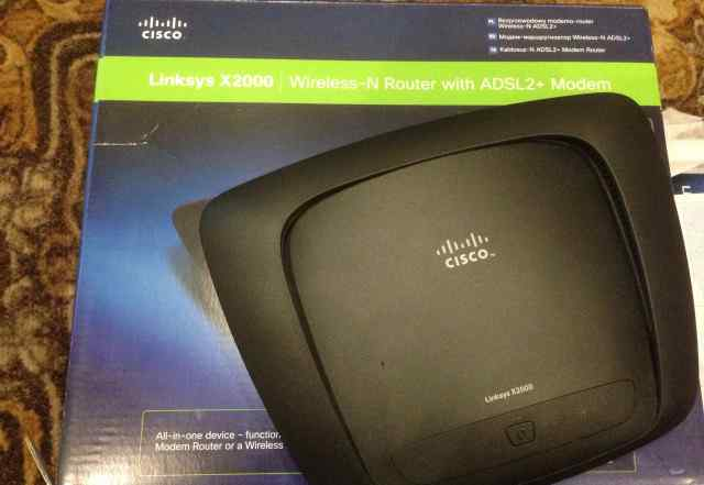 Роутер б/у wi-fi Linksys X2000 cisco