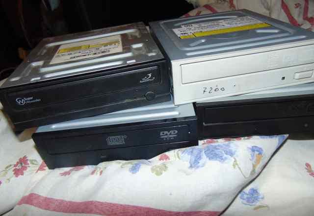 DVD RW - 4 шт