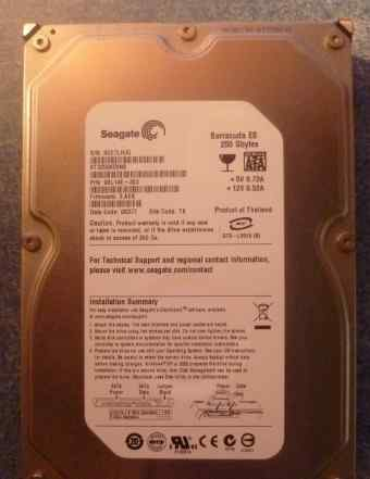 250 GB HDD Barracuda ES