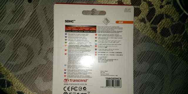 Transcend Premium 8 GB sdhc class 6