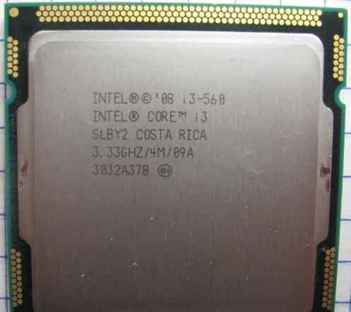 Процессор Intel Core i3-560(4M, 3.33GHz) LGA 1156