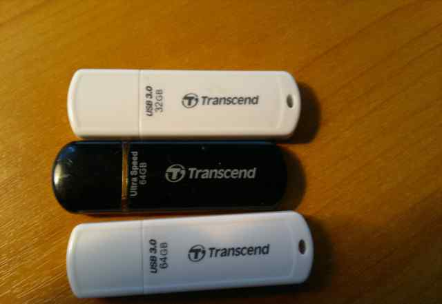 USB Флешка, Transcend Original 64GB, USB 3.0