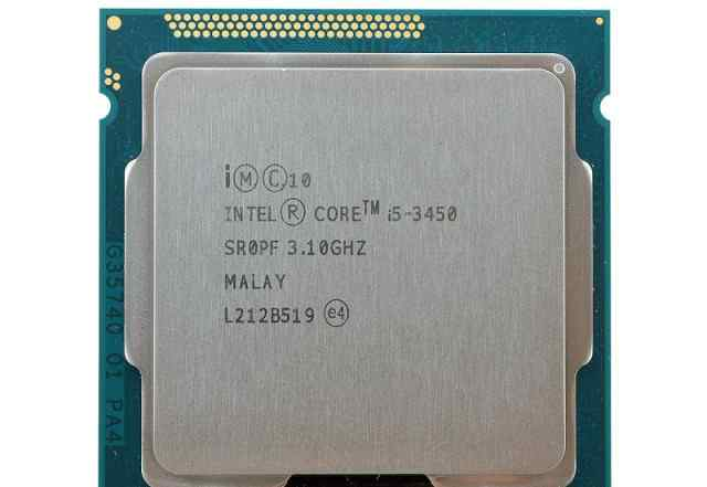 Intel Core i5-3450 Ivy Bridge 3100MHz