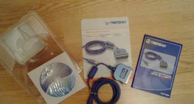 Контроллер trendnet TU-P1284 Конвертор USB/ паралл