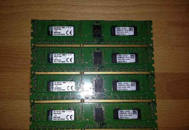 Оперативная память Kingston KVR16R11S8/4 4 гб