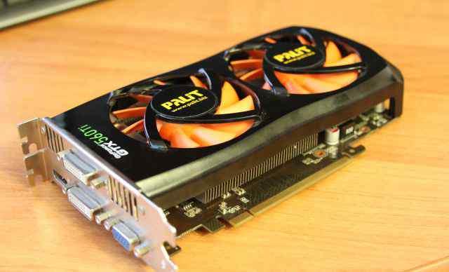 Видеокарта 2048Mb palit GeForce GTX 560Ti gddr5