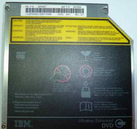 IBM DVD-CD rom