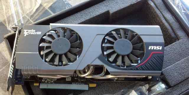 Игровая видеокарта Radeon HD 7970 3Gb 384 bit