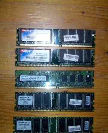Оперативная память DDR2 512Mb 400-667 мгц