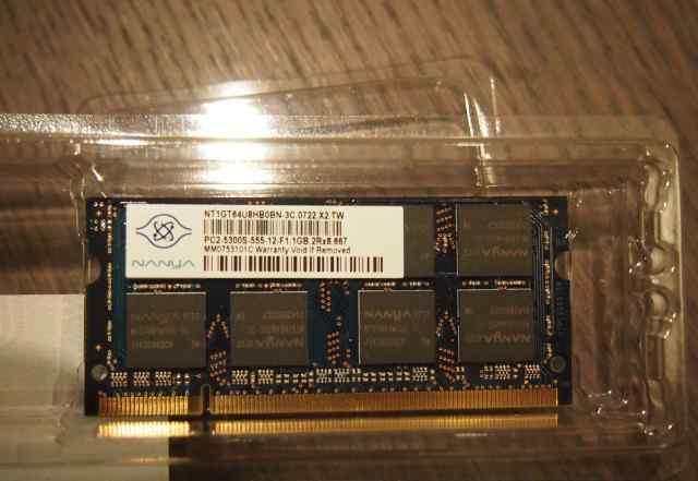 Nanya SO-dimm DDR2 1Gb