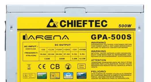 Chieftec GPA-500S 500W OEM