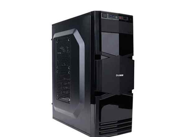 Корпус mATX zalman ZM-T3, Mini-Tower, без бп, черн