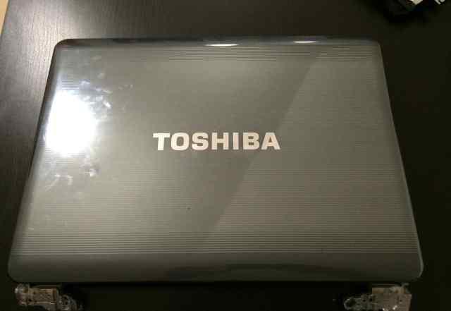Петли и шлейф матрицы Toshiba satellite a300