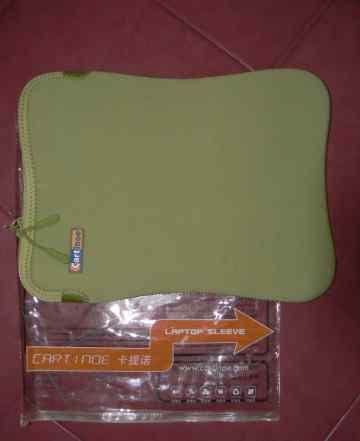 Чехол для ноутбука, нетбука 13 дюймов, оливоквый