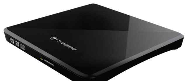 Transcend TS8 CD/DVD-WR Black