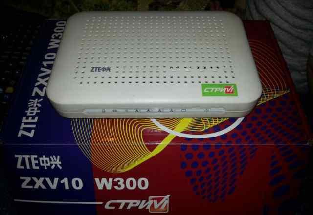Модем ZTE W300 wi-fi