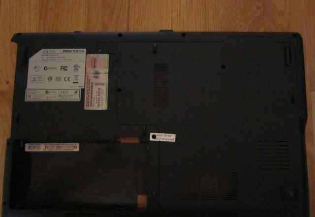Корпус Low Case MSI CR630 с динамиками