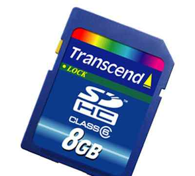 Карта памяти transcend sdhc 8GB Class 6