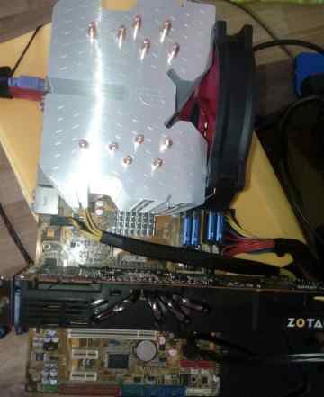 Комплект Asus P5K-SE + Xeon 5440 2.83Gz 12 Mb (Ана