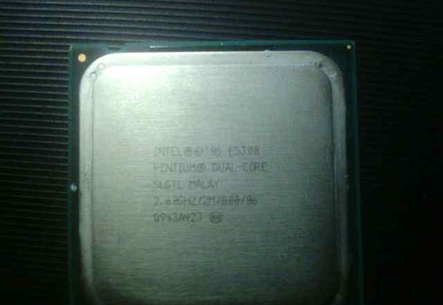Процесор Intel e5300 pentium dual-core2.60grz