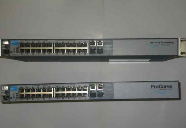 Коммутатор HP ProCurve Switch 2510-24 (J9019B) бу