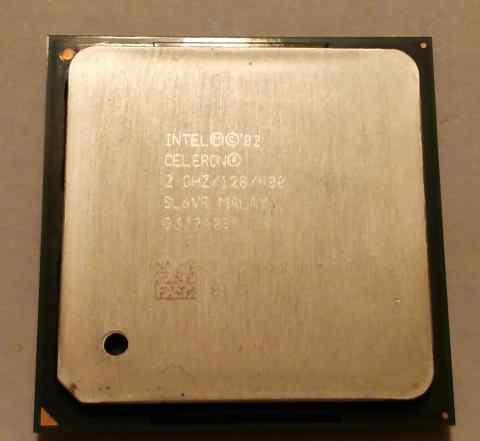 Celeron 2.00GHz/128K/400MHz