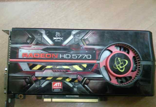 видеокарту Radeon HD 5770 1 gb