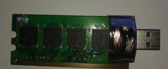 USB flash флешка 4 GB Steampunk ручная работа