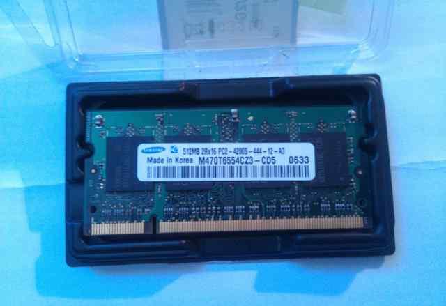 Sodimm ddr2 Samsung 512Mb