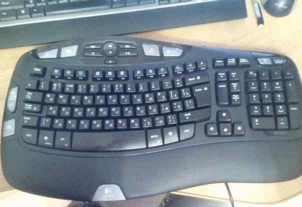 клавиатуру logitech wave pro