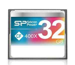Карта памяти CF Card 32 Gb 400x Silicon Power