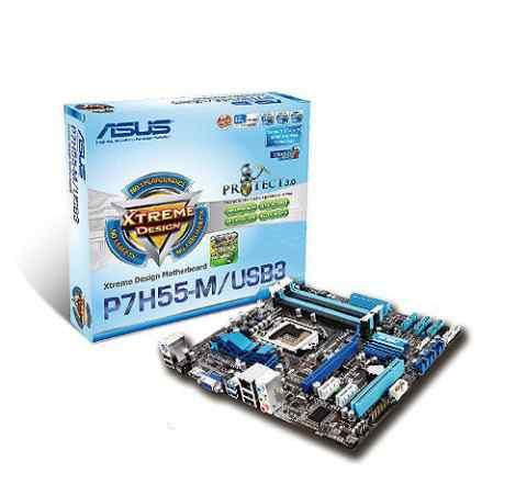 Intel Core i5-670 + Asus p7h55-m/usb3