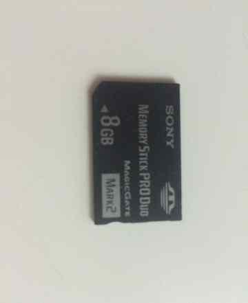 Карта памяти Memory Stick PRO Duo 8Gb