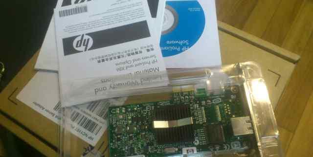 NEW. Сетевая карта HP NC110T