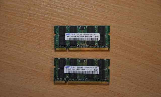 Samsung 1GB для ноутбука