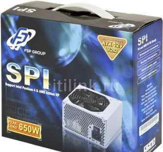 Новый Блок питания FSP SPI 600 retail