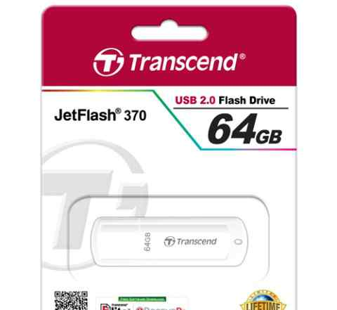 Transcend USB 2.0 Flash Drive JetFlash 370 64 Gb