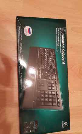 Logitech Illuminated Keyboard K740 Black USB