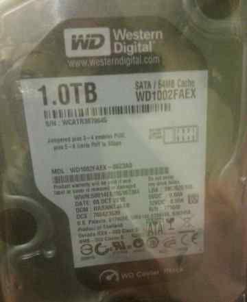 Жесткий диск WD Caviar Black WD1002faex