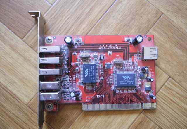 Карта PCI VIA VTS2221A3 3xUSB2ext + 2x1394