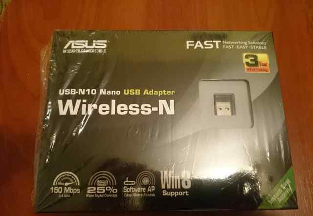 USB Wi-Fi адаптер asus (USB-N10 Nano Wireless-N)