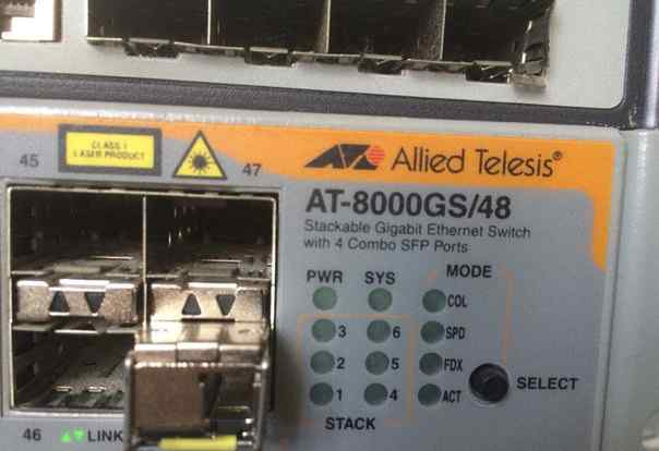 Коммутатор AT-8000GS/48