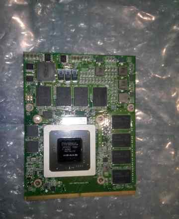 Видеокарта ноутбука Nvidia Quadro FX2800M