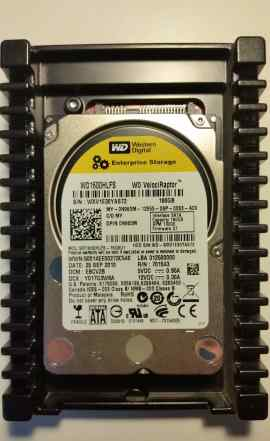 Жесткие диски WD VelociRaptor 160 Гб 10000 об/мин