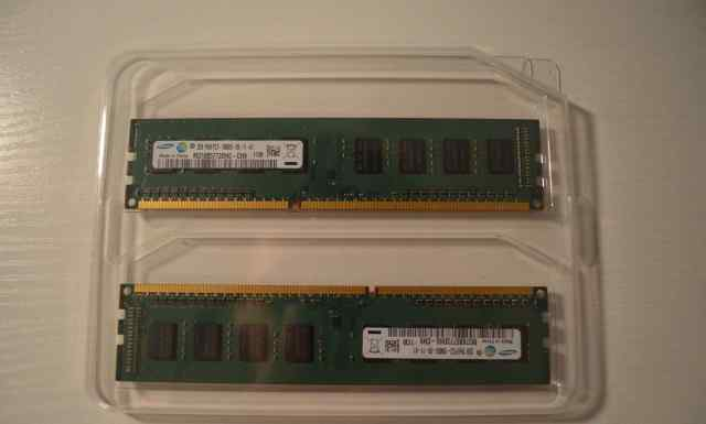 Оперативная память Sumsung DDR3 4Gb (2Gb x 2)
