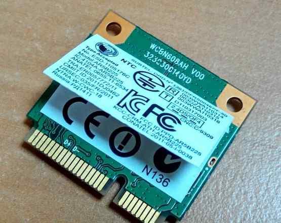 Модуль Wi-Fi miniPCI AR5B225 wcbn608ah v00 802.11n